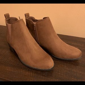 Suede Style Booties